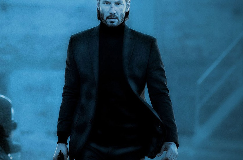 """The man. The myth. The legend. John Wick. You're not very good at retiring."""
